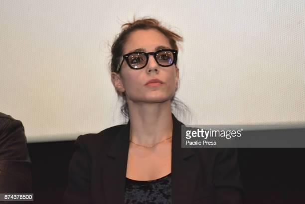CINEMA NAPOLI ITALIA ITALY Cristiana Dell'Anna during the premiere of the TV series 'Gomorra 3'