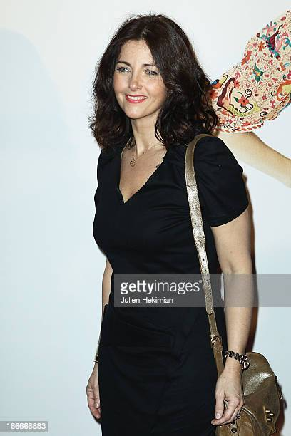 Cristiana Reali attends 'Les Gamins' Paris Premiere at Cinema Gaumont Capucine on April 15 2013 in Paris France