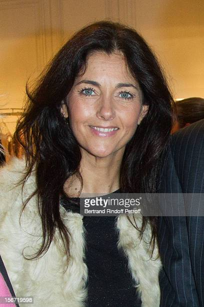 Cristiana Reali attends the signing of Francis Huster's book 'And Dior Created Woman' at Dior Boutique on November 19 2012 in Paris France