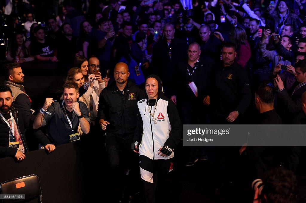 UFC 198: Cyborg v Smith : News Photo
