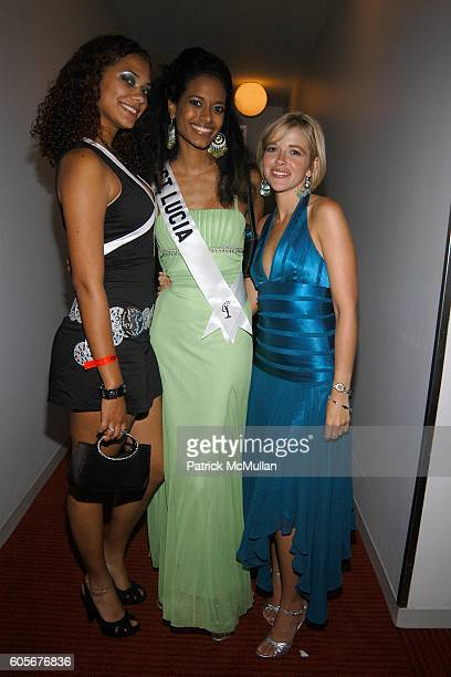 Cristianne AndrewRose Sascha AndrewRose Miss St Lucia and Anya Devoe attend Miss Universe Post Pageant VIP Party hosted by Chuck Nabit Dave Geller Ed...