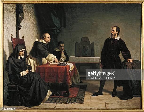 Cristiano Banti Galileo before the Inquisition Court 1857