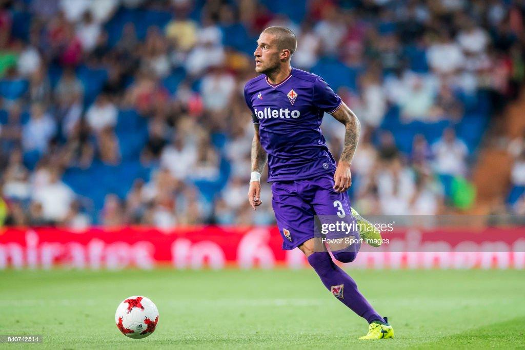 Santiago Bernabeu Trophy 2017 - Real Madrid vs ACF Fiorentina : News Photo