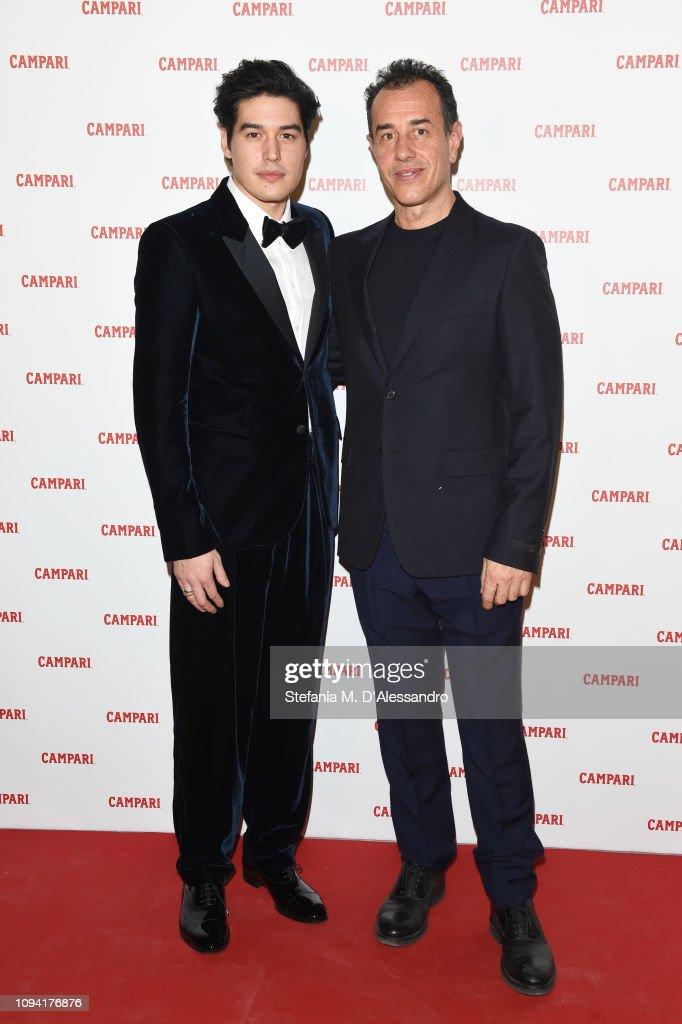 c521b12922d Cristiano Caccamo and Matteo Garrone attend Campari Red Diaries 2019 ...