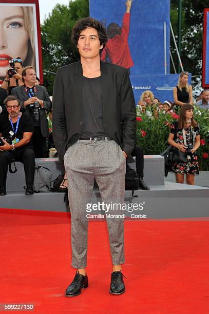 Cristiano Caccamo attends a premiere for 'Hacksaw Ridge' during the 73rd Venice Film Festival at on September 4 2016 in Venice Italy