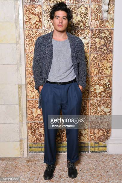 Cristiano Caccamo attends the Kineo Diamanti Awards dinner during the 74th Venice Film Festival at Grande Albergo Ausonia Hungaria on September 3...