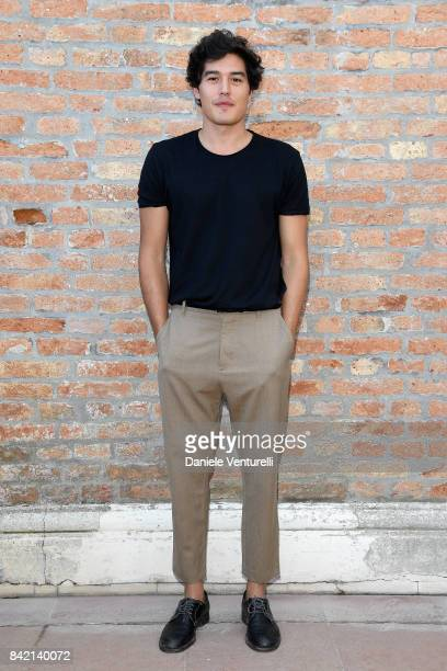 Cristiano Caccamo attends the Kineo Diamanti Awards press conference during the 74th Venice Film Festival at on September 3 2017 in Venice Italy