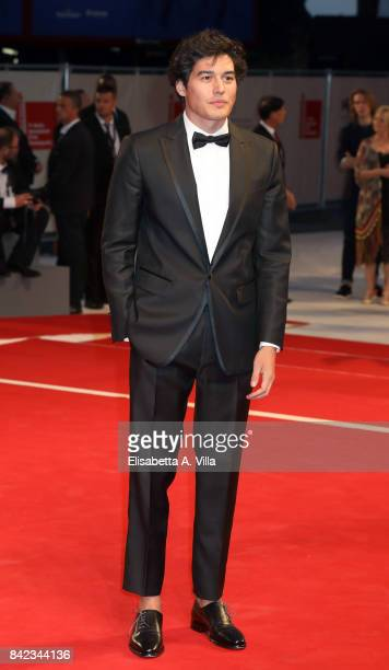 Cristiano Caccamo from Kineo delegation walks the red carpet ahead of the 'The Leisure Seeker ' screening during the 74th Venice Film Festival at...