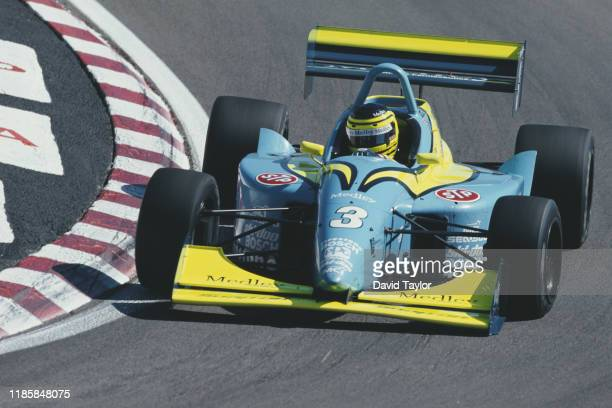 Cristiano da Matta of Brazil drives the Brian Stewart Racing Lola T97/20 Buick during the Championship Auto Racing Teams Dayton Indy Lights...