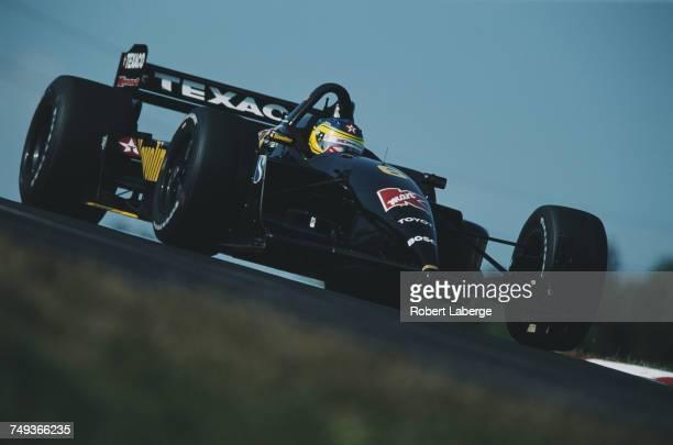 Cristiano da Matta of Brazil drives the Havoline Newman/Haas Racing Lola B01/00 Toyota RV8F during the Championship Auto Racing Teams 2001 FedEx...