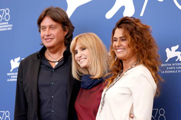 """ITA: """"Deandré#Deandré Storia Di Un Impiegato"""" Photocall - The 78th Venice International Film Festival"""