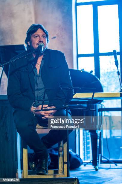 Cristiano De Andre' Presents 'De Andre Canta De Andre' vol3 at Mimmo on October 2 2017 in Milan Italy