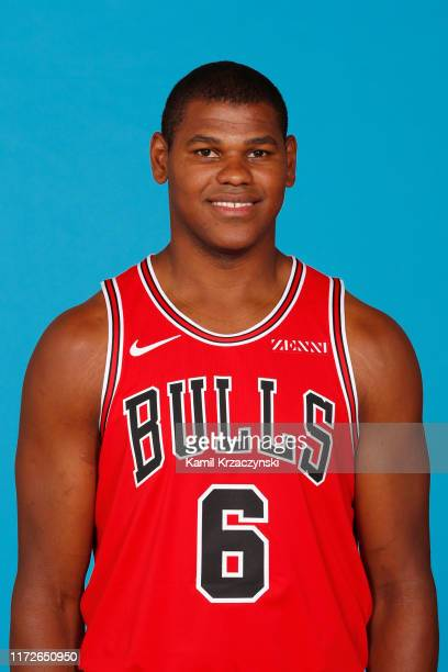 Cristiano Felicio of the Chicago Bulls poses for a head shot during media day on September 30, 2019 at the Advocate Center in Chicago, Illinois. NOTE...