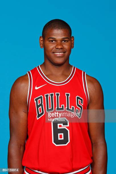 Cristiano Felicio of the Chicago Bulls poses for a head shot during NBA Media Day on September 25 2017 at the Advocate Center in Chicago Illinois...