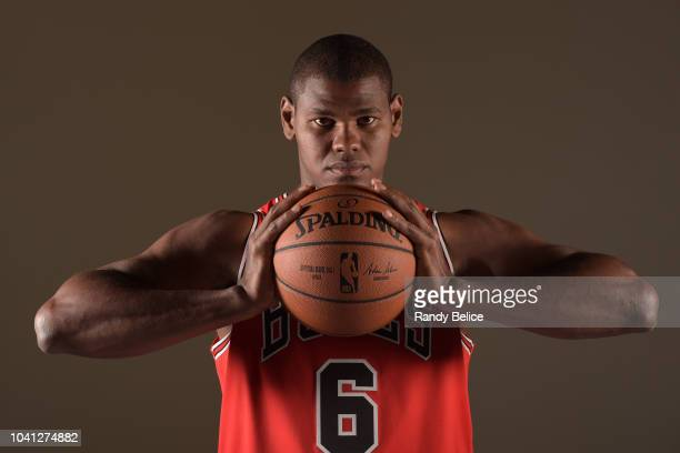 Cristiano Felicio of the Chicago Bulls poses for a portrait at media day on September 24 2018 at the United Center in Chicago Illinois NOTE TO USER...
