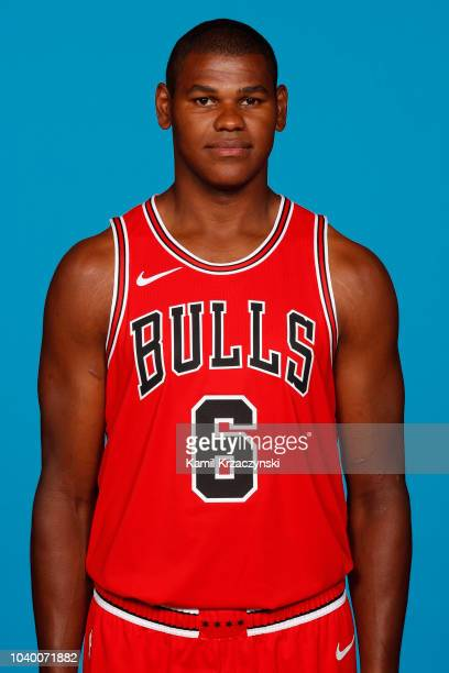 Cristiano Felicio of the Chicago Bulls poses for a portrait during media day at the United Center in Chicago Illinois on September 24 2018 NOTE TO...