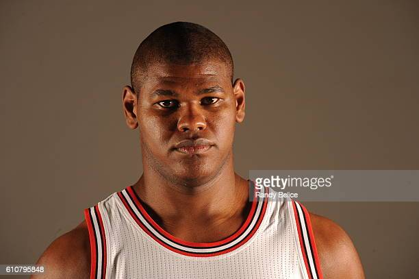 Cristiano Felicio of the Chicago Bulls poses for a portrait during the 20162017 Chicago Bulls Media Day on September 26 2016 at the Advocate Center...