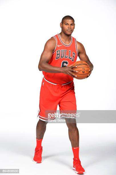 Cristiano Felicio of the Chicago Bulls poses for a portrait during the 201718 NBA Media Day on September 25 2017 at the United Center in Chicago...