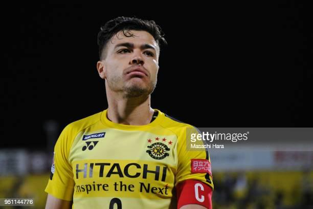 Cristiano of Kashiwa Reysol looks on after the JLeague J1 match between Kashiwa Reysol and Urawa Red Diamonds at Sankyo Frontier Kashiwa Stadium on...