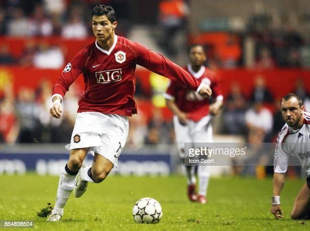 Cristiano RONALDO Manchester United / Milan Ac 1/2 finale Champions League