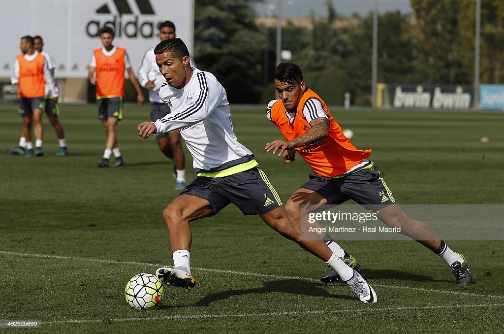 Real Madrid Training And Press Conference : News Photo