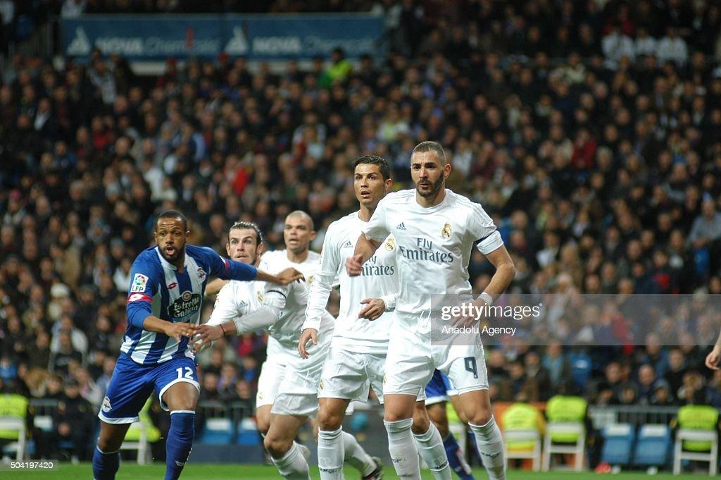 Real Madrid CF vs Deportivo: La Liga : News Photo