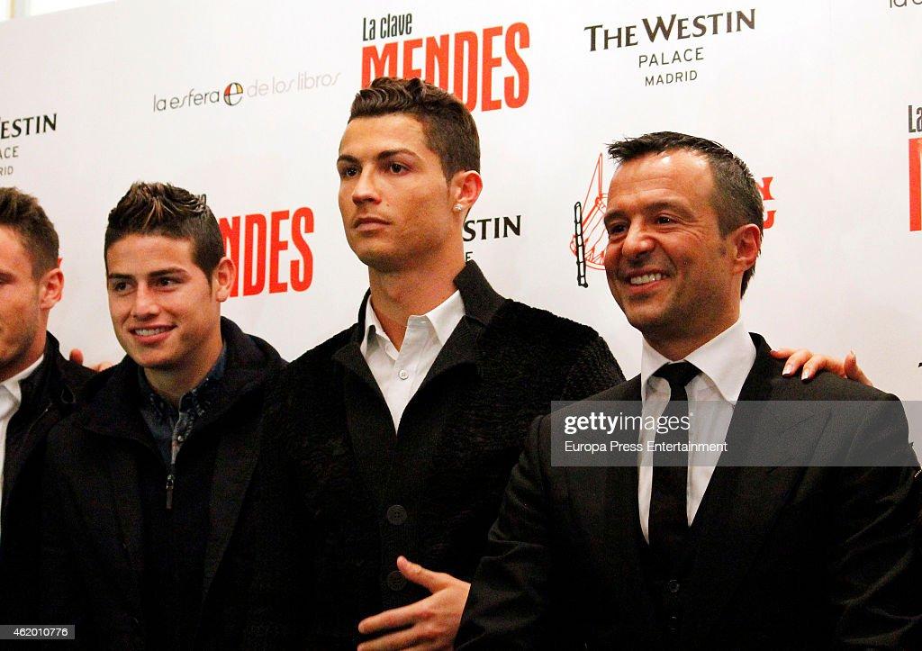 Cristiano Ronaldo Attends 'The Key to Mendes' Book Presentation : News Photo