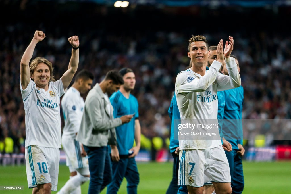 Real Madrid v Bayern Muenchen - UEFA Champions League Semi Final Second Leg : News Photo