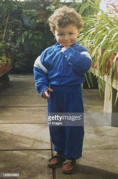 Cristiano Ronaldo as a young boy on January 10 1987