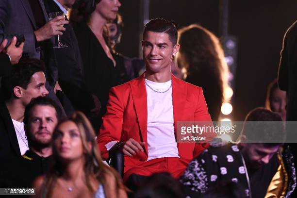 Cristiano Ronaldo attends the MTV EMAs 2019 show at FIBES Conference and Exhibition Centre on November 03 2019 in Seville Spain
