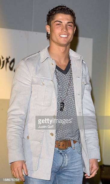 Cristiano Ronaldo Attends The Nike 'Joga Bonito' Football Movement Launch Party At The Truman Brewery In London