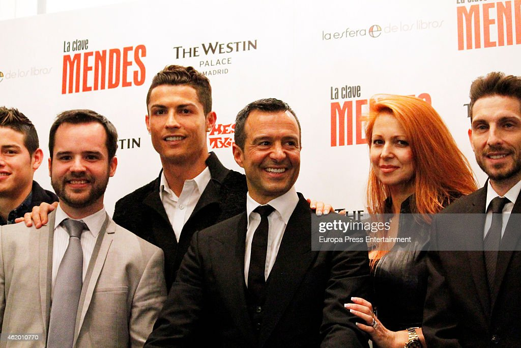 Cristiano Ronaldo Attends 'The Key to Mendes' Book Presentation : News Photo