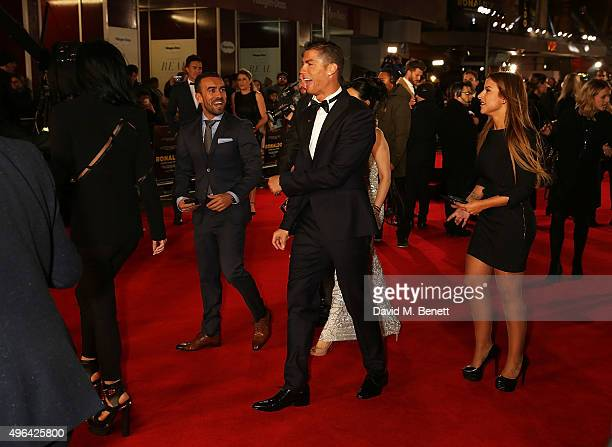 Cristiano Ronaldo attends the World Premiere of 'Ronaldo' at the Vue West End on November 9 2015 in London England