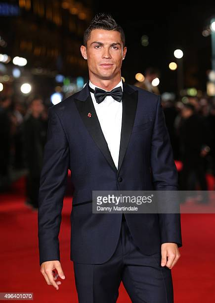 "Cristiano Ronaldo attends the World Premiere of ""Ronaldo"" at Vue West End on November 9, 2015 in London, England."
