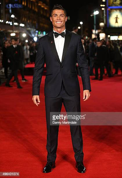Cristiano Ronaldo attends the World Premiere of 'Ronaldo' at Vue West End on November 9 2015 in London England