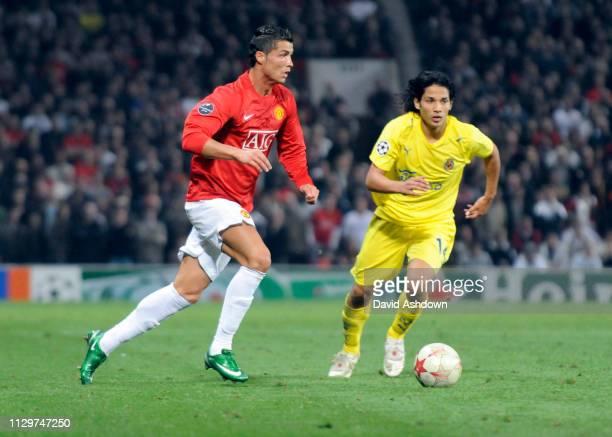 Cristiano Ronaldo during Manchester United v Villarreal, at Old Trafford 17 September 2008.