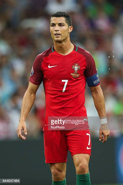Cristiano Ronaldo during the UEFA EURO 2016 quarter final match between Poland and Portugal at Stade Velodrome on June 30 2016 in Marseille France