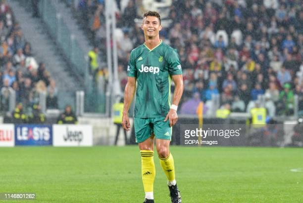 Cristiano Ronaldo from 'Campioni Per La Ricerca' seen during the 'Partita Del Cuore' Charity Match at Allianz Stadium. Campioni Per La Ricerca win...
