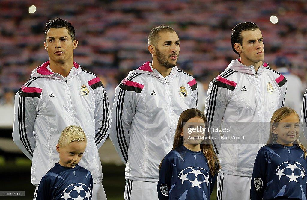 FC Basel 1893 v Real Madrid CF - UEFA Champions League : News Photo