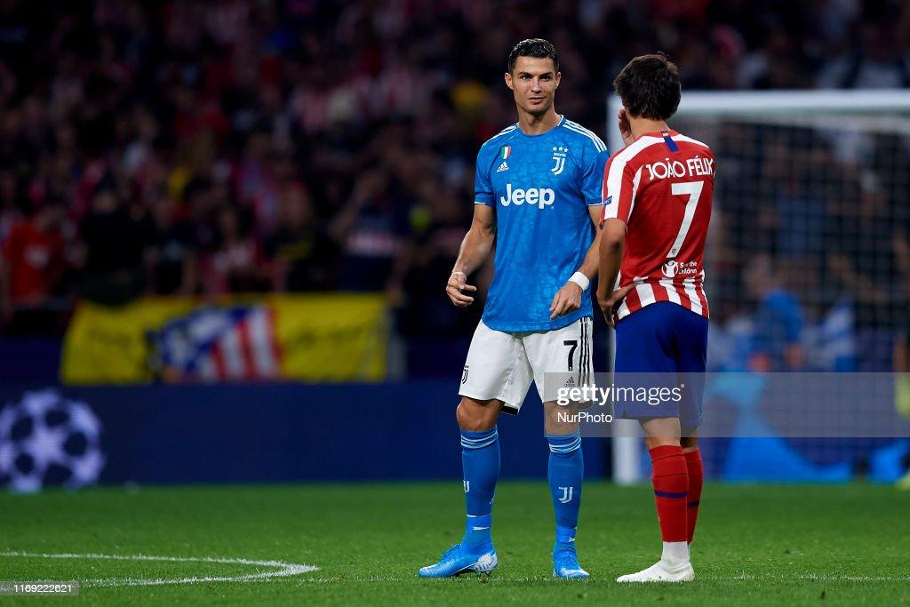 Atletico Madrid v Juventus: Group D - UEFA Champions League : Fotografia de notícias