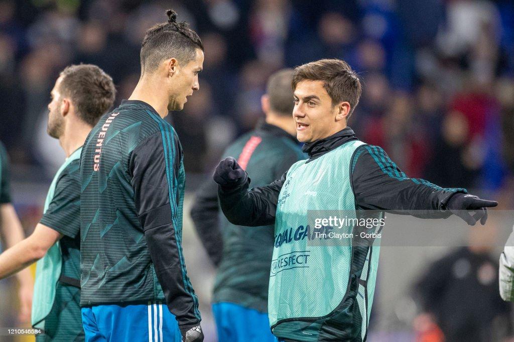 Lyon V Juventus : News Photo