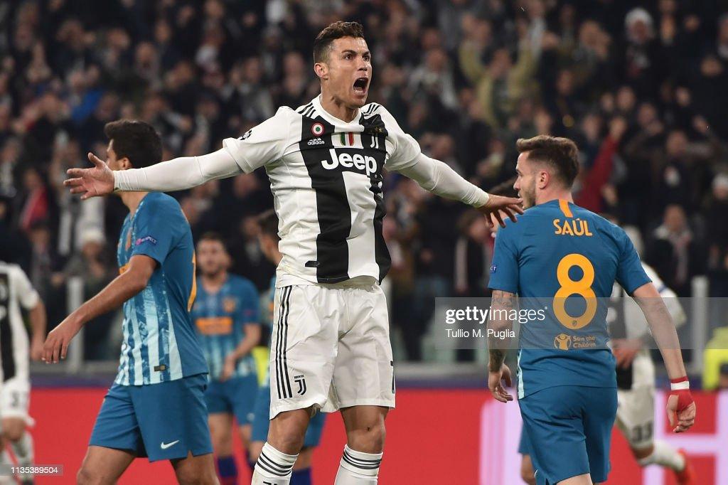 ITA: Juventus v Club de Atletico Madrid - UEFA Champions League Round of 16: Second Leg