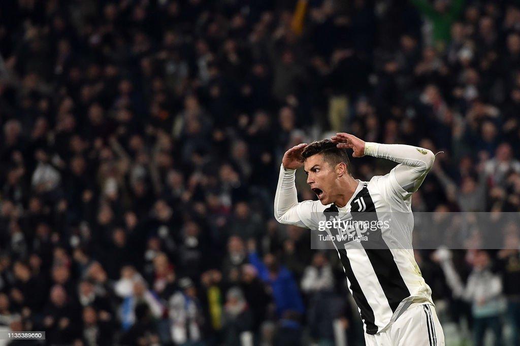 Juventus v Club de Atletico Madrid - UEFA Champions League Round of 16: Second Leg : Foto jornalística