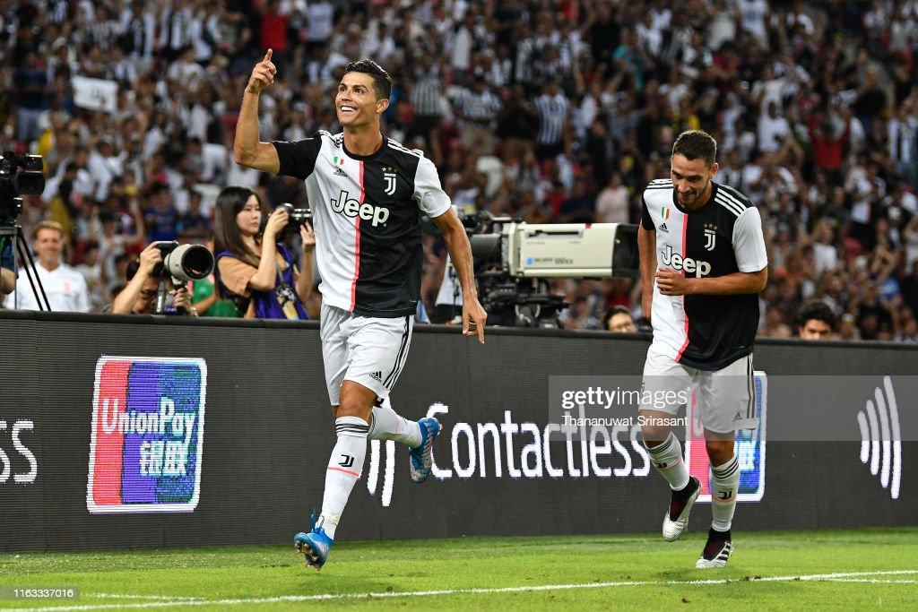 Juventus v Tottenham Hotspur - 2019 International Champions Cup : Foto jornalística
