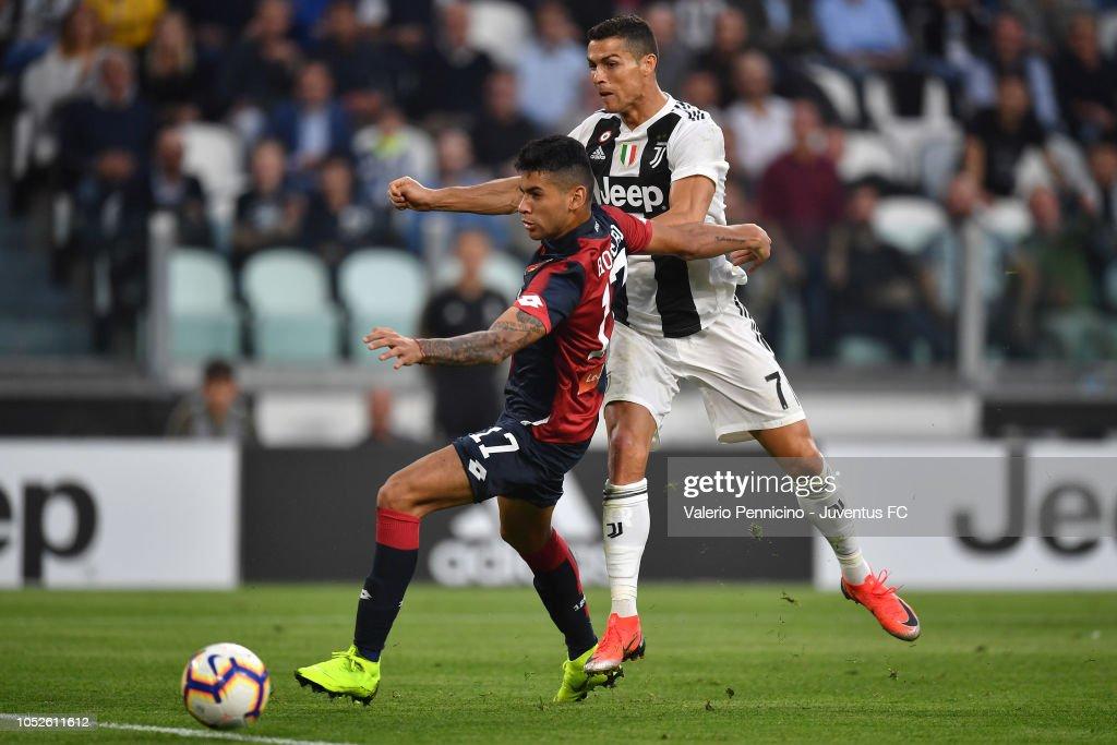 Juventus v Genoa CFC - Serie A : Foto di attualità