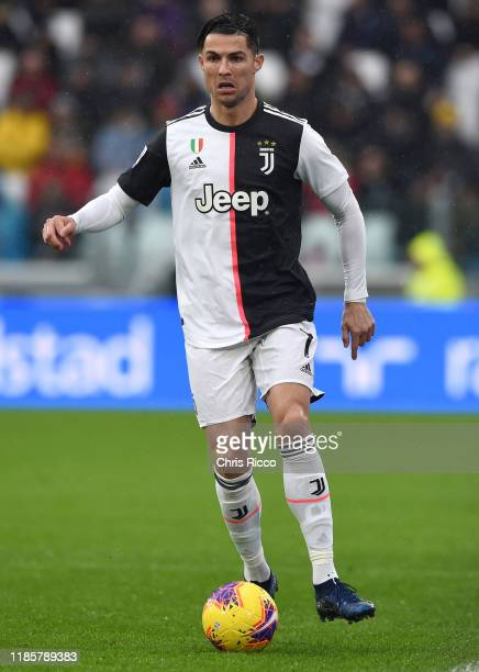 Cristiano Ronaldo of Juventus during the Serie A match between Juventus and US Sassuolo at Allianz Stadium on December 1 2019 in Turin Italy