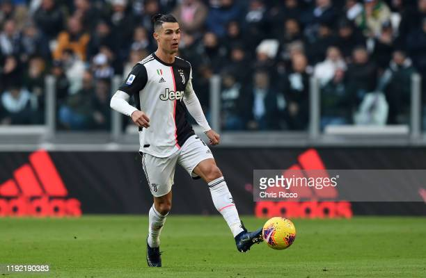 Cristiano Ronaldo of Juventus during the Serie A match between Juventus and Cagliari Calcio at Allianz Stadium on January 6, 2020 in Turin, Italy.