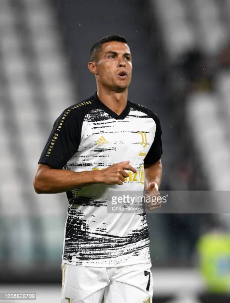 Cristiano Ronaldo of Juventus during the Serie A match between Juventus and UC Sampdoria at Allianz Stadium on September 20 2020 in Turin Italy