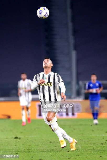 Cristiano Ronaldo of Juventus FC in action during the Serie A match between Juventus Fc and Uc Sampdoria Juventus Fc wins 30 over Uc Sampdoria