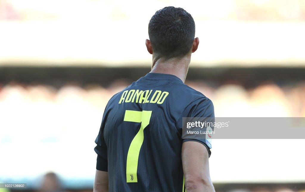 Chievo Verona v Juventus - Serie A : News Photo